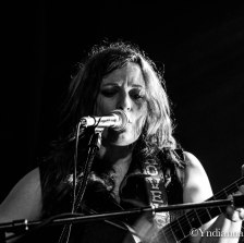 Cary Ann Hearst - Shovels & Rope - Le Divan du Monde - 02/02/2017 - Paris (France) ©Yndianna